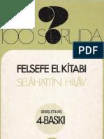 100 Soruda Felsefe El KitabI