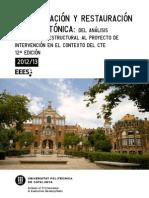 UPC - Rehabilitación y Restauración Arquitectónica