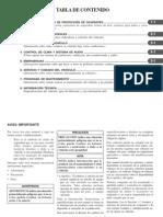 Manual Aveo 2013