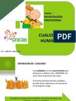 Clases 2 - Cualidades Humanas