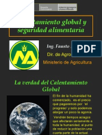 5. Calentamiento Global y Seguridad Alimentaria.