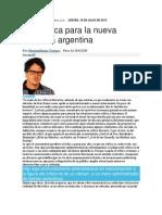 Una critica para la literatura argentina - diario la nación