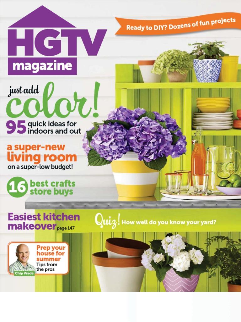 HGTV Magazine - June 2013