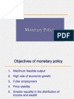 Monetary Policy Iimm