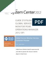 Guide d%27utilisation de Global Service Monitor