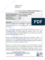 PROYECTO CATEDRA  CONSTITUCIONAL
