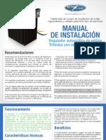 Manual de Instalacion Trifasico 220