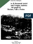 Documenti storici Recoaro, Valli e Posina