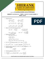 Complex Number Xi