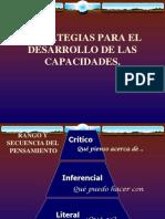 Estrategias Para El Desarrollo de Capacidades