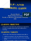 Self-And Collaborative Learning