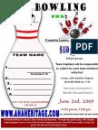AHA Bowling Registration Form June 2009