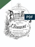 Borodin Petite Suite Pf