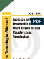 AVALIAÇÃO DE ROCHAS ORNAMENTAIS - CETEM