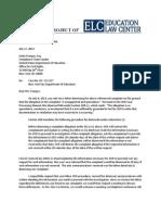 Education Law Center OCR letter
