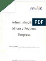 Apostila Administração de Micro e Pequena Empresa