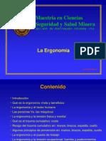 Presentación Ergonomia