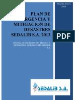 Plan Emergencia y Md Sedalib 2013
