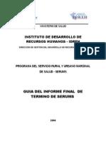 120413 Guia MODELO de Informe Final