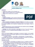 DIPLOMATURA PSS, información y llamado 2014