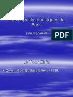 Les Objectifs Touristiques de Paris