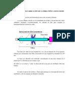 TECNOLOGÍA DE FABRICACIÓN DE LA FIBRA ÓPTICA MONO