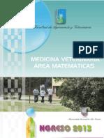 Modulo Matematica Veterinaria 2012