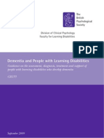 Dementia in DI British Society