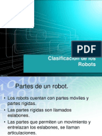 Clasificacion de Los Robots