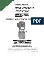 Hydraulic  Pump Manual
