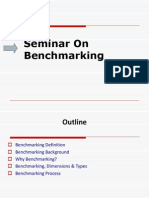 Seminar on Benchmarking