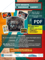 City Heights Resident Leadership Academy July 24
