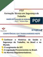 FTST Prevenção Acidentes AULA 1