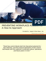 Preventing Workplace Accidents Presentation