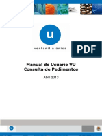 Manual de Consulta Pedimentos - Portal