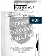 German Divisional Emblems (1944)