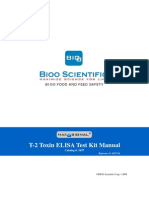 1037-01 Maxsignal T-2 Elisa Test Kit Manual