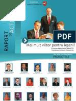 Raportul de activitate al Preşedintelui Consiliului Judeţean Iaşi, Cristian ADOMNIŢEI, la un an de mandat (iunie 2012 - iunie 2013)