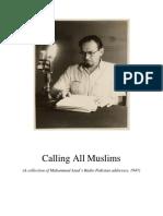 Calling All Muslims - Radio Broadcasts of Muhammad Asad.