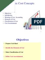Best Presentation on cost sheet