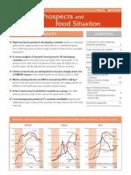 FAO Crop Prospects 2008 2009
