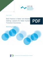 water tariff