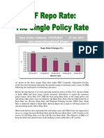 LAF Repo Rate-The Single Policy Rate-VRK100-23Jul2013