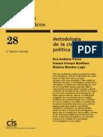 Metodología de la Ciencia Política, Ismael Crespo Martínez (2009)