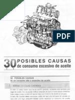 30 Posibles Causas de Consumo Excesivo de Aceite-1