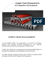 Challenges for Supply Chain Management in Today's