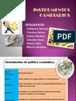 INSTRUMENTOS CAMBIARIOS