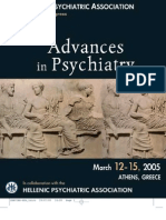 Advances in Psychiatry Second Volume