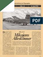 FlugRevue - Mikojan Gurewitsch MiG-21
