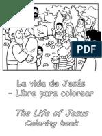 La Vida de Jesús para colorear - Life of Jesus Coloring Book